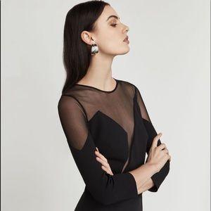 BCBG Edesa Sheer Dress NWT